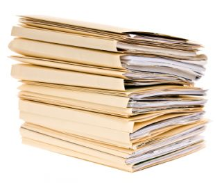 stack of application folders