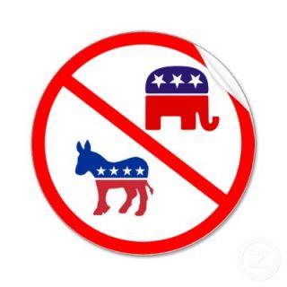 Just say no to Democrats and Republicans