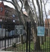 A Manhattan park, named for the famous hoarding Collyer brothers.