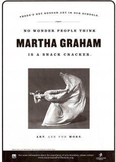 No Wonder People Think Martha Graham is a Snack Cracker