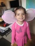 sophia with butterfly wings