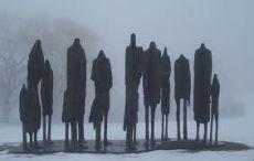 Holocaust Memorial statue