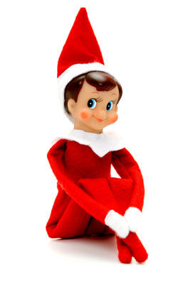 Let s bench the elf on the shelf psychology today - Christmas elf on the shelf wallpaper ...