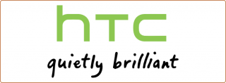 htc logo quietly brilliant