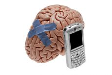 brain damage from cell phone