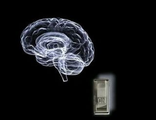 Brain and a light switch