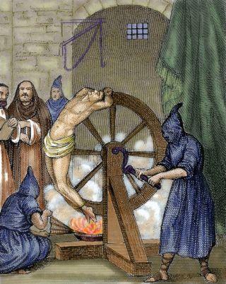 Tortura de homem na roda | Como a ciência evolutiva pode nos fazer moralmente melhores