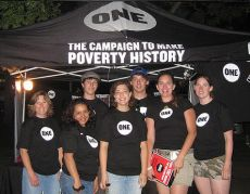 Teens fight poverty