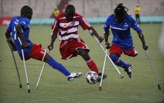Haiti Soccer Players