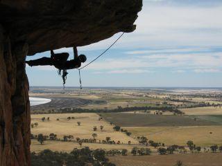 Rock climber (Kachoong, Australia)
