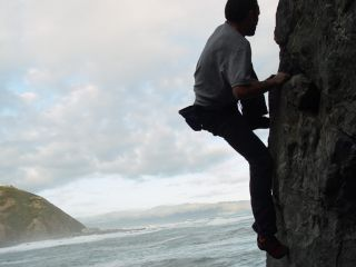 Rock Climber (Fly Rock, Wellington)
