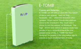 Digital Tombstone