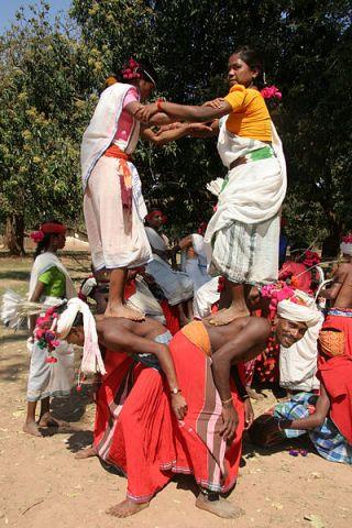 Muria dance photo