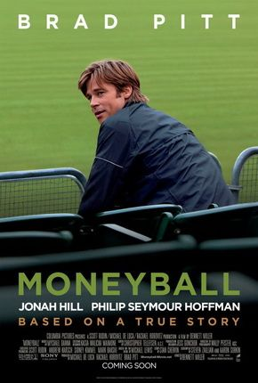 Moneyball movie poster