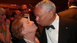 Colin Powell, kiss,kiss