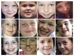Faces of slain children of Sandy Hook