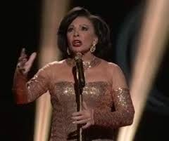 Shirley Bassey at the Oscars
