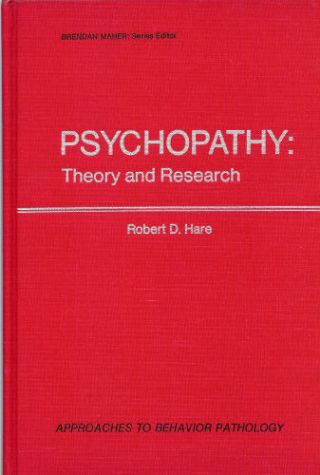 psychopath research papers This research was supported by national science foundation grant bcs 0542694 department of psychology, boston college sample one-experiment paper.