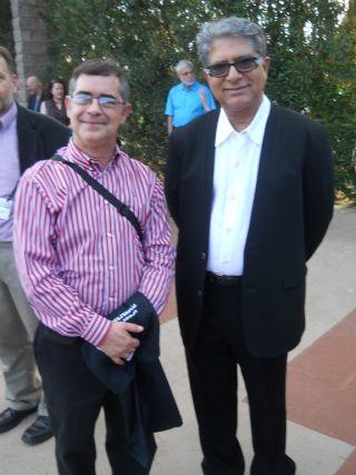 Lidell Simpson and Deepak Chopra