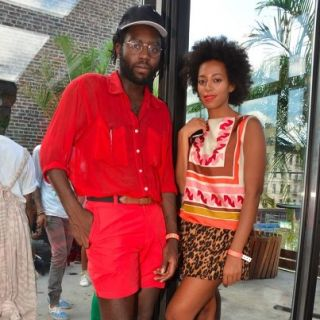 Dev Hynes and Solange Knowles