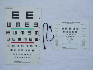 Visual acuity charts, vision, testing prayer
