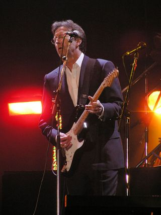Eric Clapton at the Tsunami Relief Concert, Courtesy of Yummifruitbat through Cr