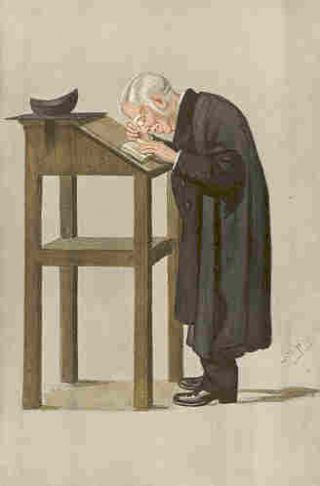 Caricature of Mr. WA Spooner, Published in Vanity Fair, April 1898