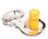 handcuffs drugs