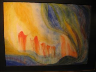 """Image of the Cave,"" F.J. Ninivaggi, permanent installationYale Child Study Center"
