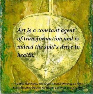 "©2012 ""Art is a Wellness Practice"" by Cathy Malchiodi, PhD"