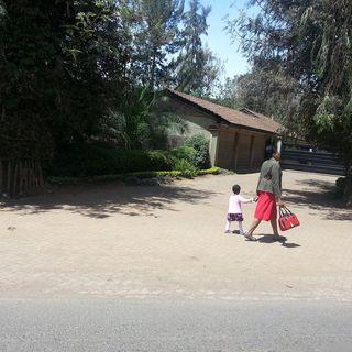 A Widow & Her Child in Kenya, photo by Kristin Meekhof