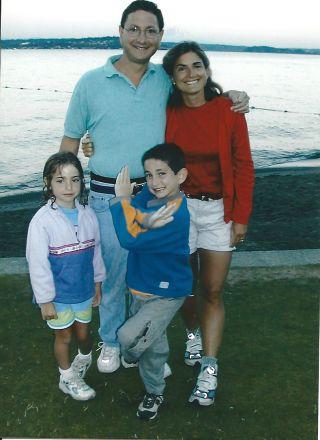 Julie K. Hersh family in 2002