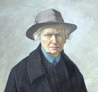 Self-Portrait With Keys (1936; detail) by Ottilie Roederstein (1859-1937). Via Wikimedia Commons. In the public domain.