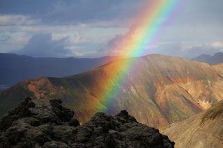 """Three Mountain Rainbow""/Daniel Schreiber/CC BY-NC 2.0"