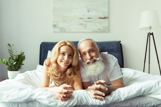 Realities of dating an older man for money