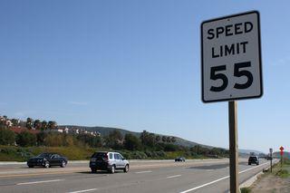 """Signage 55 speed limit""/David Lofink/CC BY 2.0"