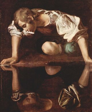 Wikimedia Commons by Caravaggio.