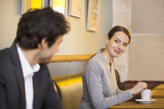 How to nonverbally flirt with a guy on a dating