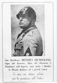 Wikimedia. Italian fascist Benito Mussolini