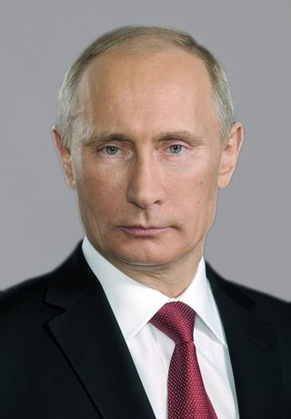 Wikimedia. Russian dictator Vladimir Putin