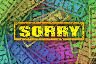 """Excuse Me I'm Sorry"" by Geralt / Pixabay / CC0 Public Domain"