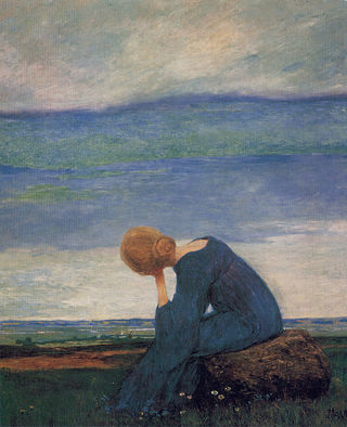 Sehnsucht (c. 1900). Heinrich Vogeler / Wikimedia Commons
