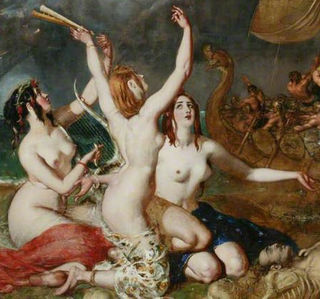 The Sirens and Ulysses, by William Etty