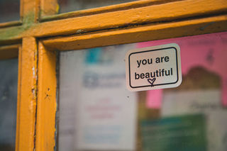 """You Are Beautiful""/Tony Webster/CC BY 2.0"