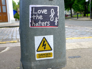 Love the haters, by Curly, Flickr (CC BY-NC 2.0)