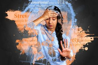 Teen sources stress of
