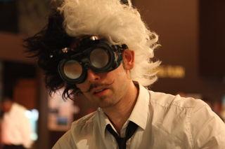 Jason in mad scientist garb by Ryan Somma, CC by 2.o