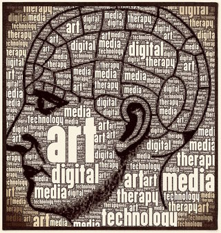 "© 2017 ""Digital Art Therapy"" via WordPhoto app by C. Malchiodi, PhD"