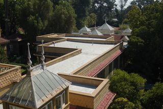 Winchester House Skylights/Wikimedia Commons