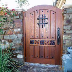 Garden Passages--Custom Wood Gates